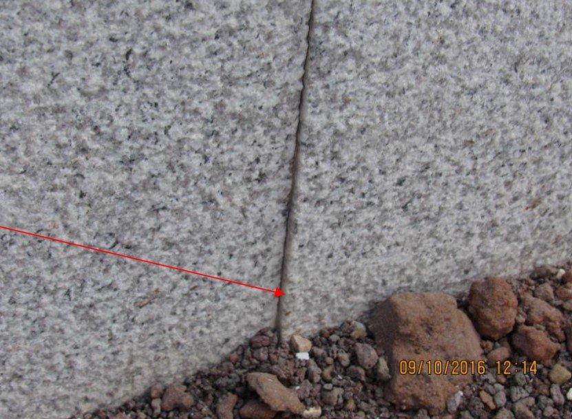 בדיקת בית - אריחי אבן בולטים