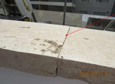 ליקויי אבן טבעית - בדיקת דירה ישנה